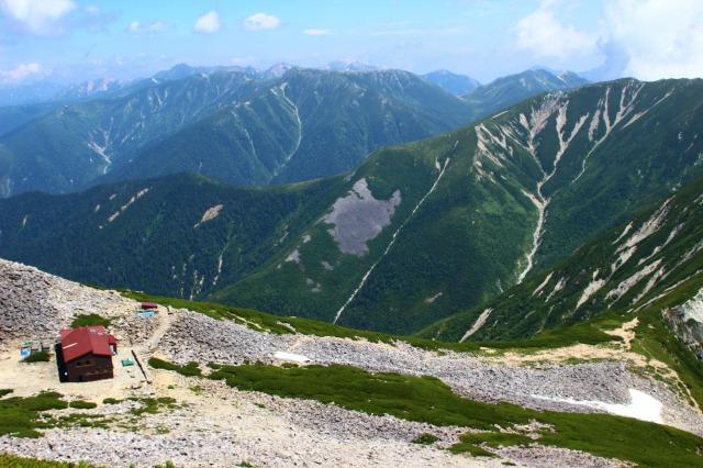 笠ヶ岳最後の登り