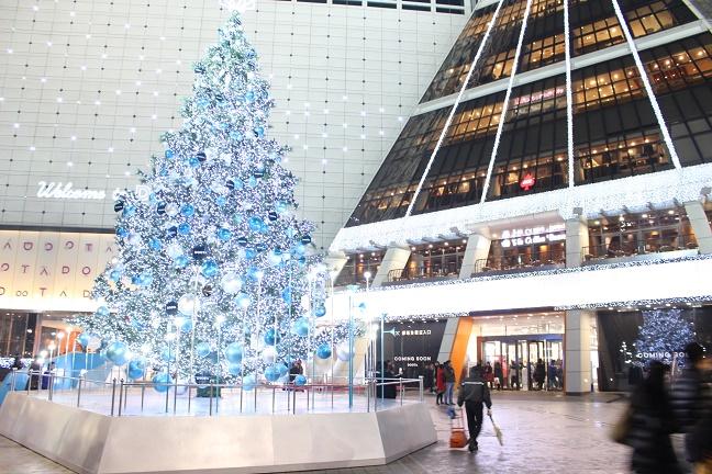 ソウルのクリスマスイルミネーション