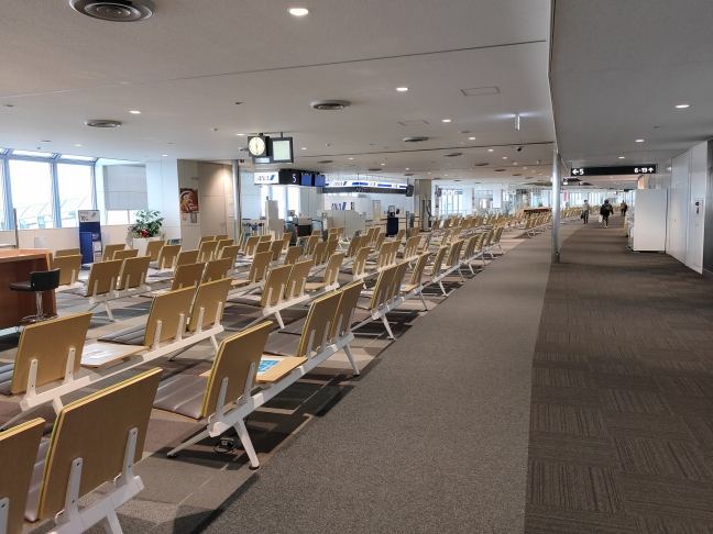 11月29日の新千歳空港