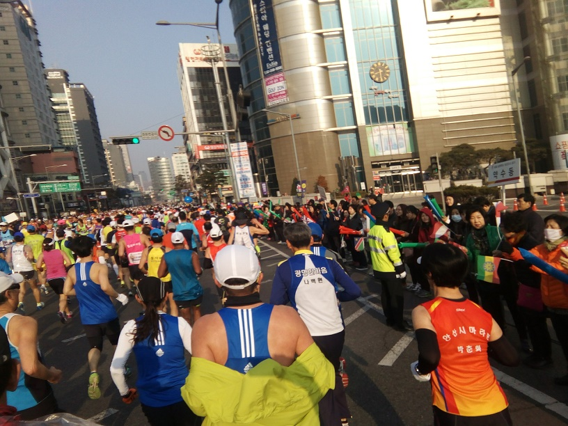 2017ソウル国際マラソン