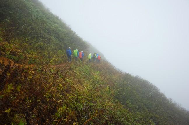 秋田駒ヶ岳登山道