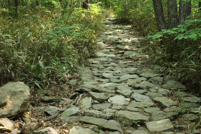 伽倻山石畳