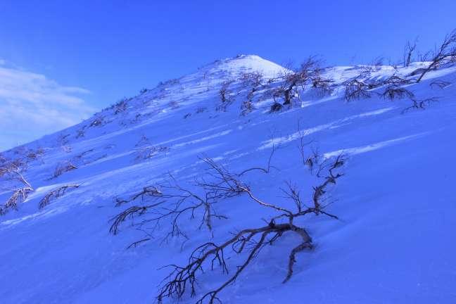 奥徳富岳山頂