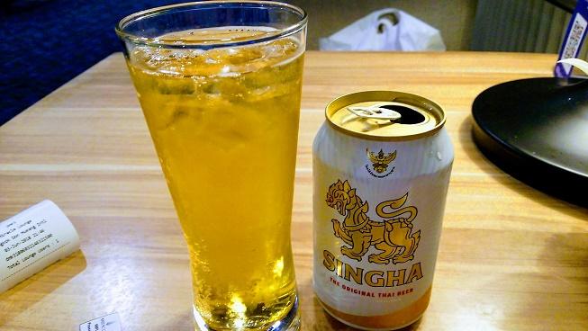 ミラクルラウンジシンハービール
