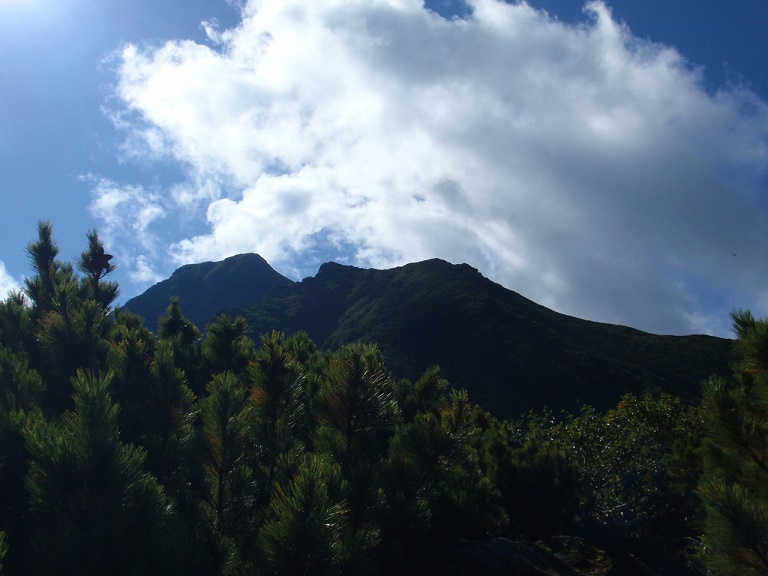 斜里岳三井コース