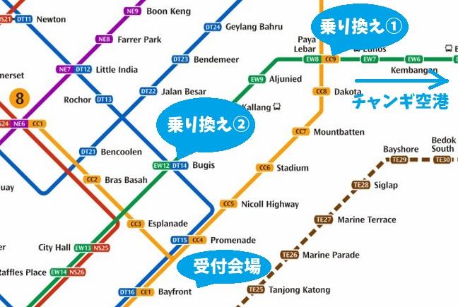 MRT シンガポールマラソン