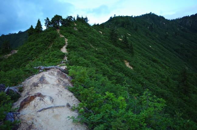平ヶ岳登山道