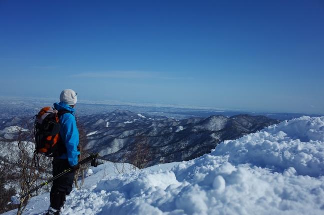 砥石山の眺め