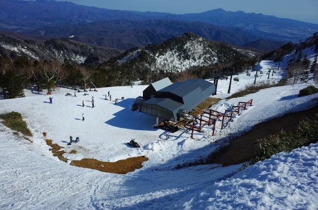 川場スキー場ゲレンデトップ