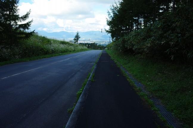 岩内岳登山口から岩内港へ