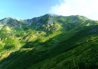 笠ヶ岳の登山(笠新道)|71歳、ナイトハイク20時間で往復(8月中旬)