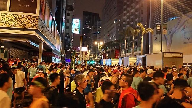 尖沙咀香港マラソン2019