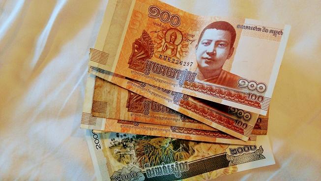 カンボジア紙幣