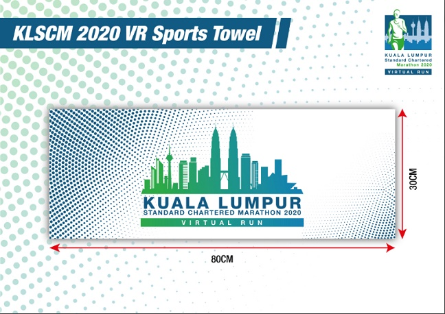 KLマラソン2020スポーツタオル