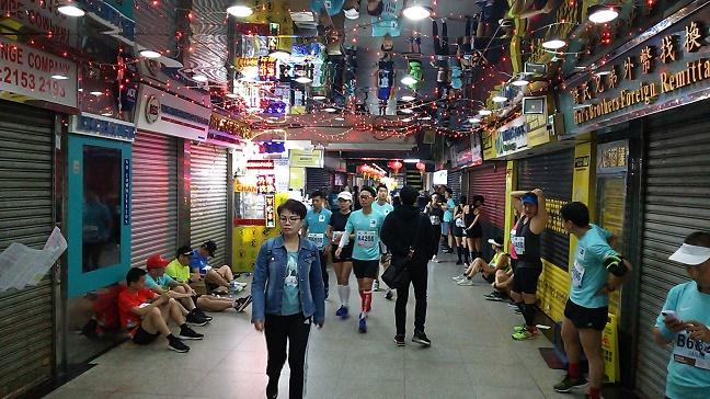 重慶大廈香港マラソン2019