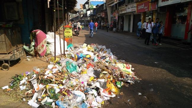 ムンバイの街並み