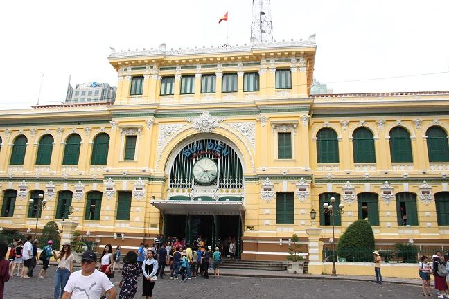 中央郵便局ホーチミン