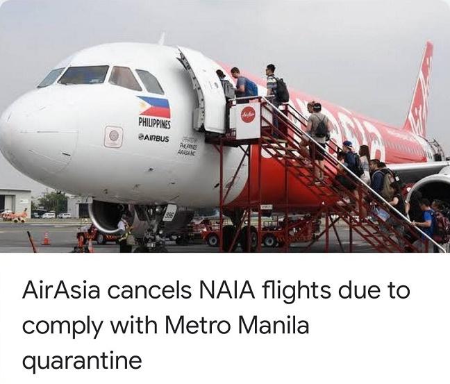 AirAsia cancels