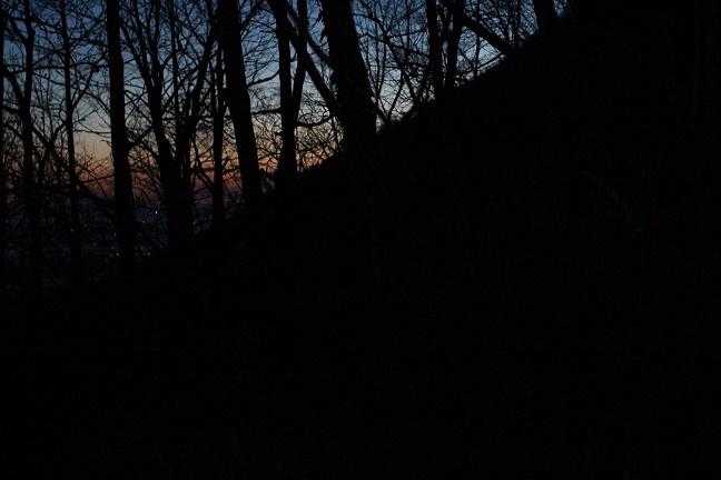 芽室岳北尾根の朝