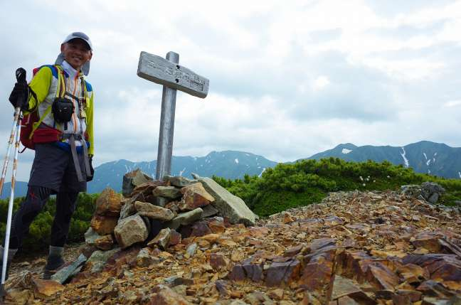 ユニ石狩岳