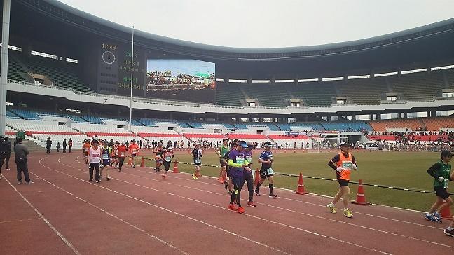 ソウル国際マラソンスタジアム