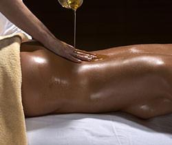 Indische Körperöl Massage