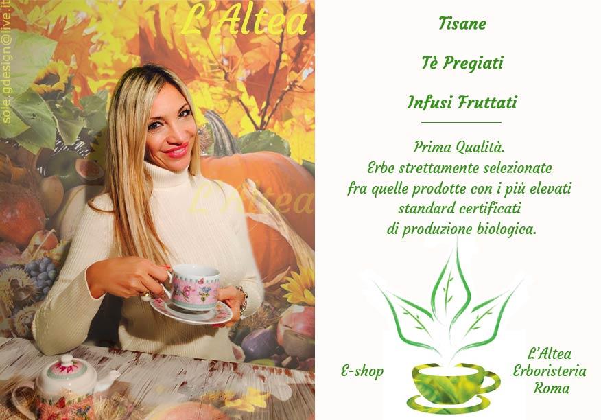 Tisane e tè di alta qualità, rinomate miscele per un caldo relax