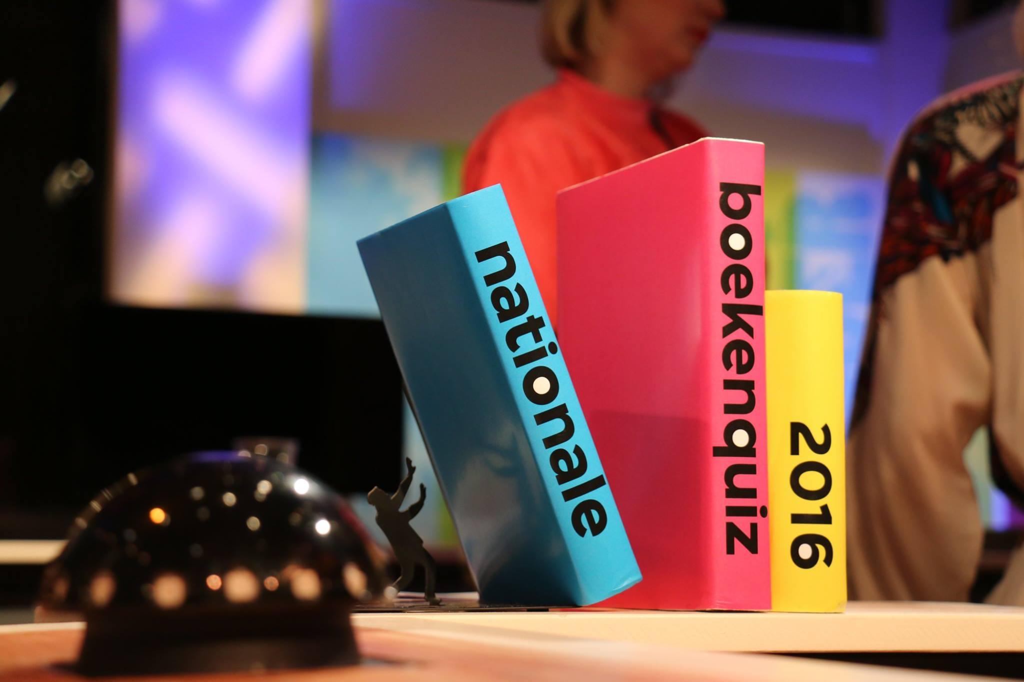 Bokaal voor de Nationale Boekenquiz 2016 (door Beeldmixer)