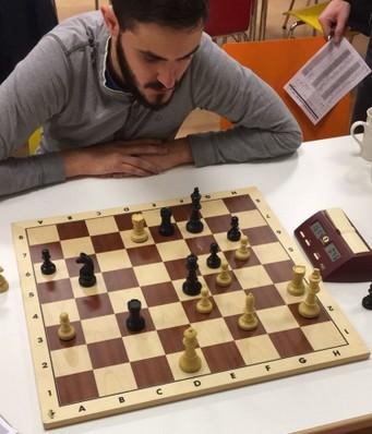 Margenberg - Kartmann  1:0 - Nach 49. ... Tc2 ? 50. TxTe7   KxTe7  51. Th7 war die Partie entschieden