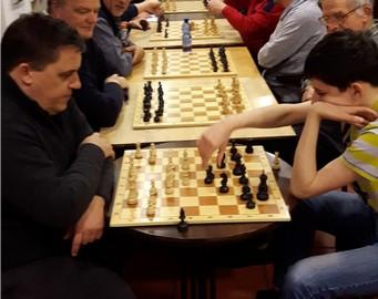 Nachholpartie der 1. Runde:  Wölk - Wölk