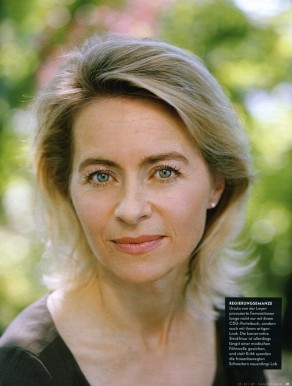 Ursula von der Leyen for Vanity Fair / Oliver Mark