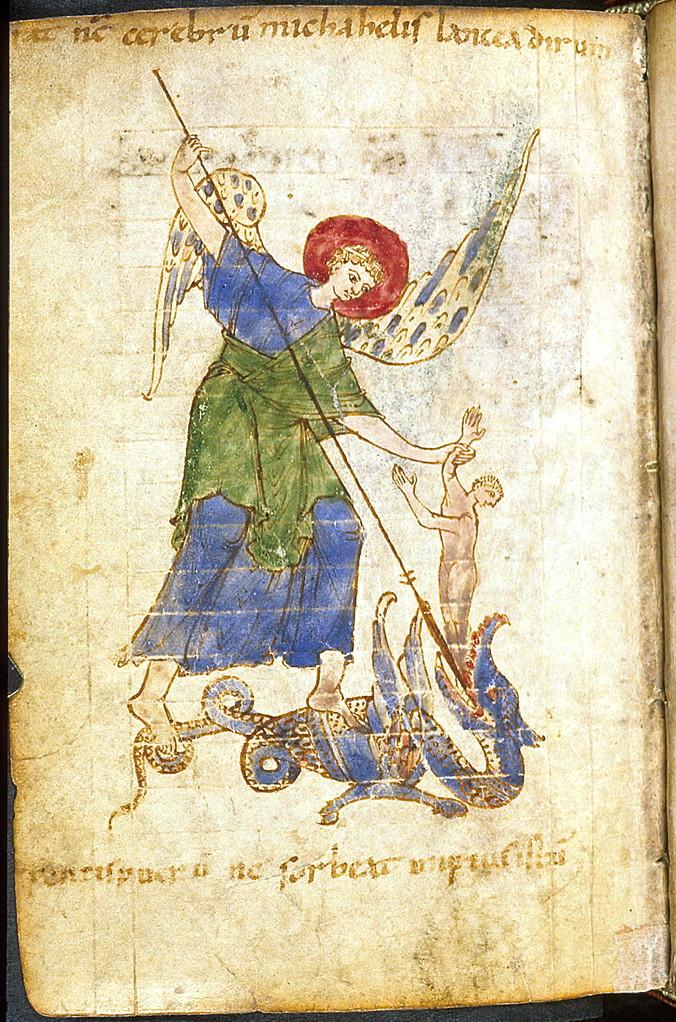 Londres, British Library, Egerton 3763, f°104v, vers 998-1018.