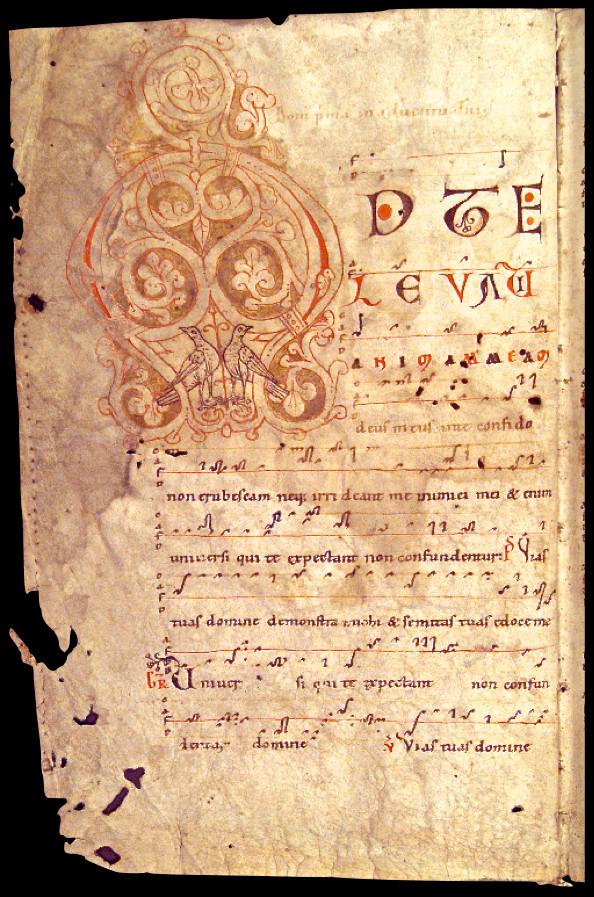 Graz, Universitätsbibliothek, ms 807, f°1v, milieu XIIe s.