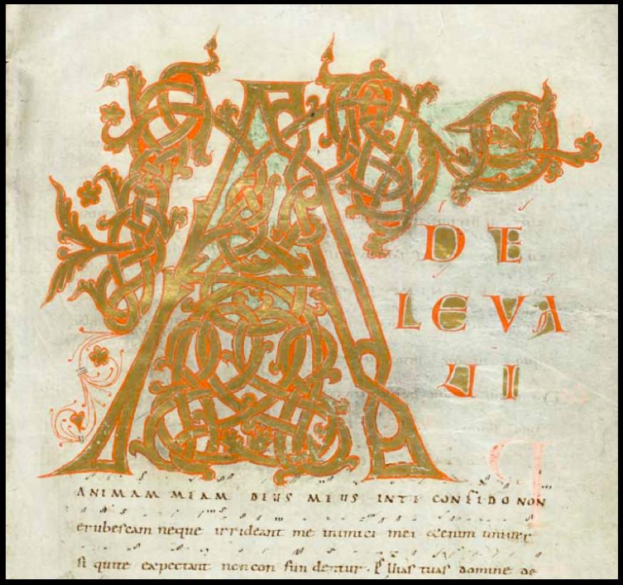 Saint-Gall, Stiftsbibliothek, ms 339 f°33, vers 980