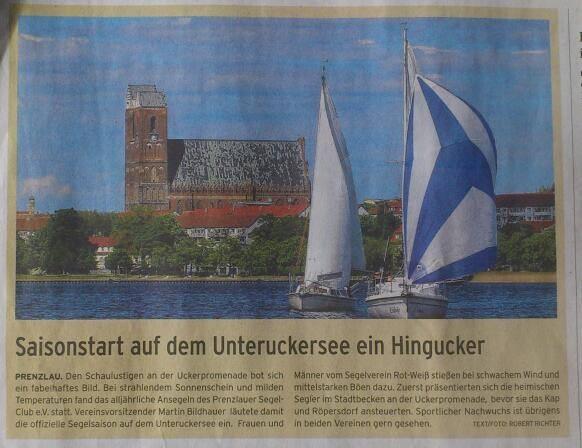 Prenzlauer Zeitung vom 06. Mai 2014
