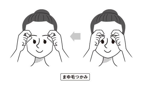 辻敦哉著『世界一簡単な髪が増える方法』より抜粋イラスト A字タイプ別薄毛の予防法