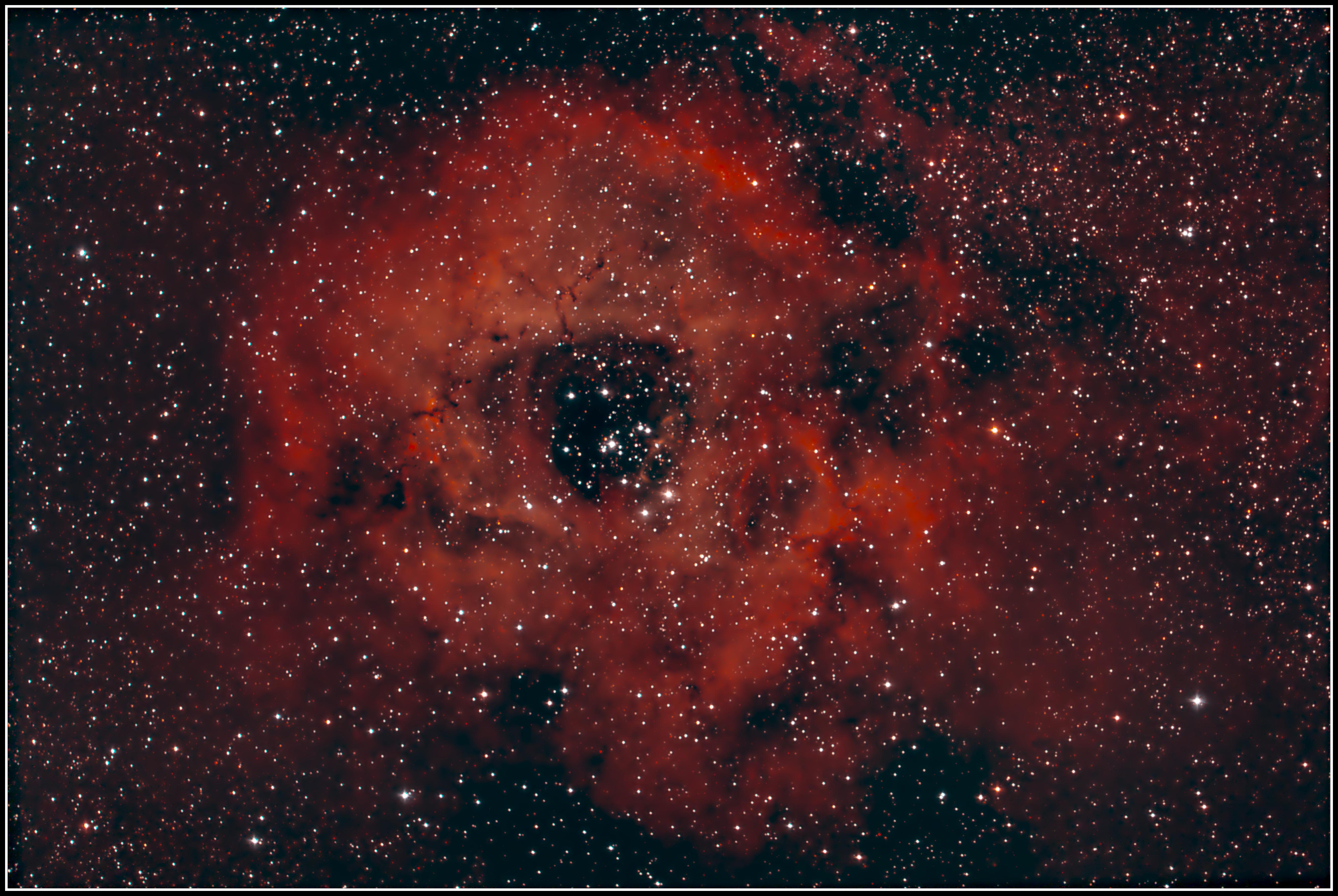 NGC 2237 • NGC 2238 • NGC 2239 • NGC 2244 • NGC 2246 • Rosettennebel- MeixnerObservatorium