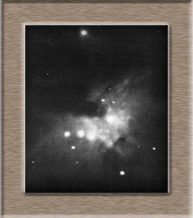 M 42 first capture from the year 1880