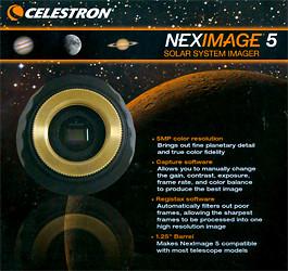 Celestron NexImage 5 für Planetenaufnahmen