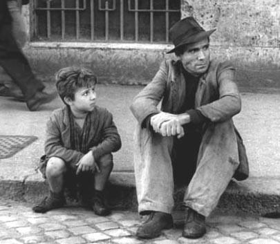 自転車泥棒(Ladri di Biciclette(伊)The Bicycle Thief(英) 1948年イタリア)