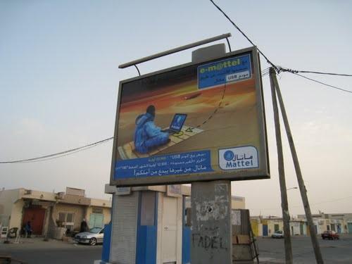 Web-Werbung in Nordafrika