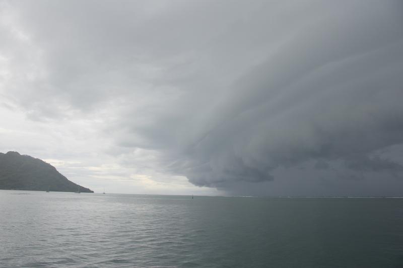In den 6 Wochen unseres Aufenthaltes auf Huahine erleben wir den Wechsel von Sommer zu Winter....
