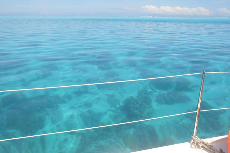 Das Wasser ist absolut sauber und kristallklar