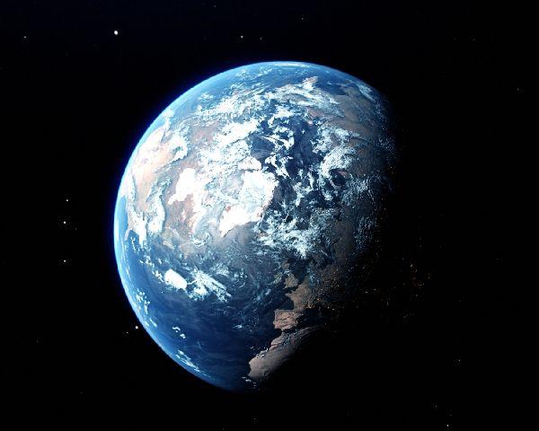 地球のイメージ写真