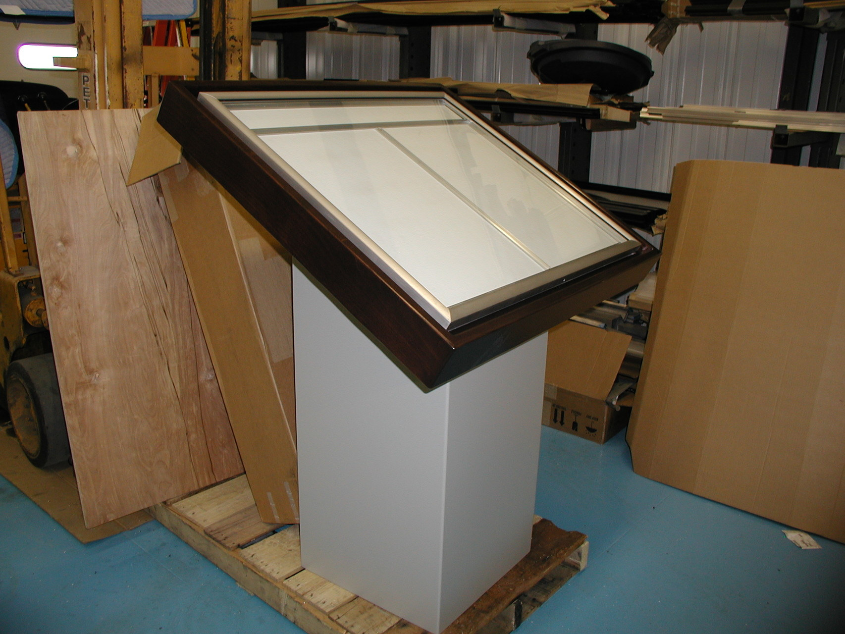 Pedestal and Hardwood Directory