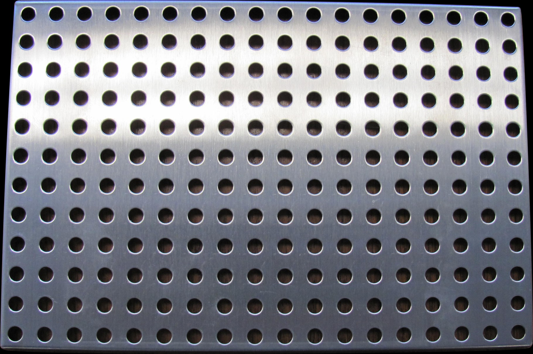 Stainless Steel Perforated Sign Blank