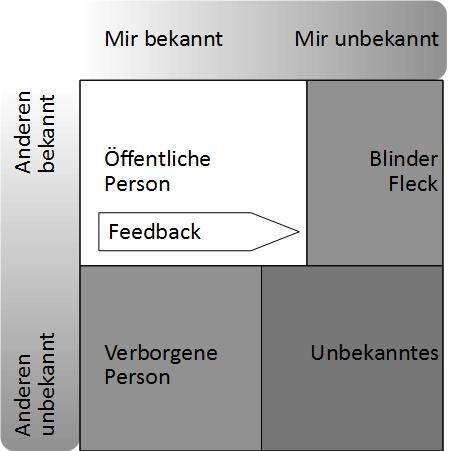Johari-Fenster, Feddback, Blinder Fleck, TalentKompass