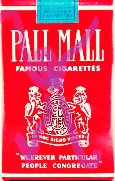 Pedro Meier – »Pall-Mall-Art – Nr.5« – over painted Pall Mall cigarette packs – 2017 – Basel Collection – Photo © Pedro Meier Multimedia Artist/ProLitteris Zürich. Visarte Solothurn – Ateliers: Gerhard Meier-Weg Niederbipp Bern Oberaargau – Olten –Bangkok