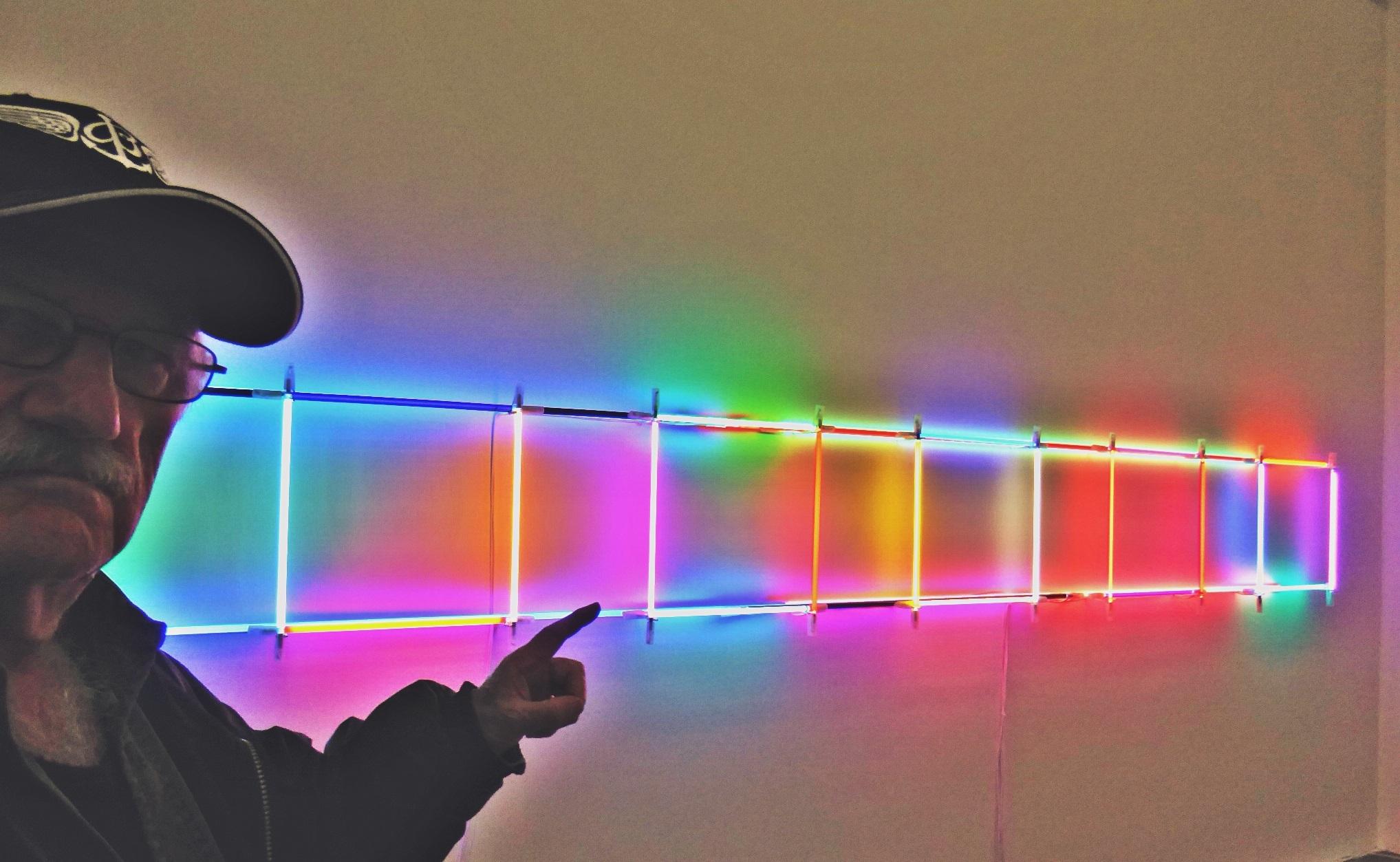 Pedro Meier PhotoArt – Lichtkunst – Light Installations Nr. 05– »Selfie-Art-Project« – Photo 2016 © Pedro Meier Multimedia Artist / ProLitteris – Niederbipp – Bangkok