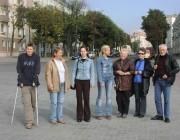 Gruppenbesuch in der Straße des 1. Mai